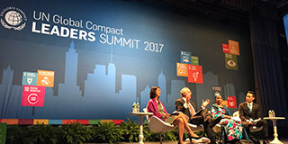 UN Global Compact Leaders discuss the role of business in global development